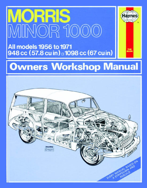 Morris Minor 1000 (56 - 71) Revue technique Haynes