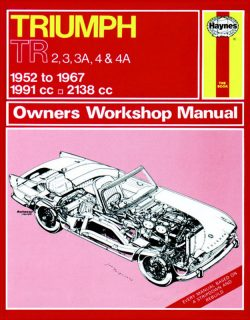 Triumph TR2, TR3, TR3A, TR4 and TR4A (52 - 67) Revue technique Haynes Classic Reprint