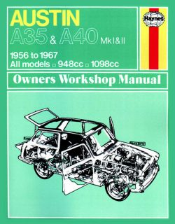 Austin A35 and A40 Revue technique Haynes Classic Reprint