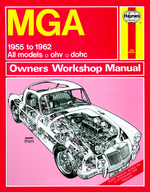 MGA (55 - 62) Revue technique Haynes Classic reprint