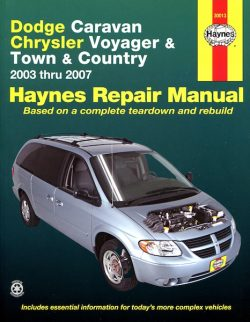 Dodge Caravan / Chrysler Voyager & Town & Country Haynes Repair Manual