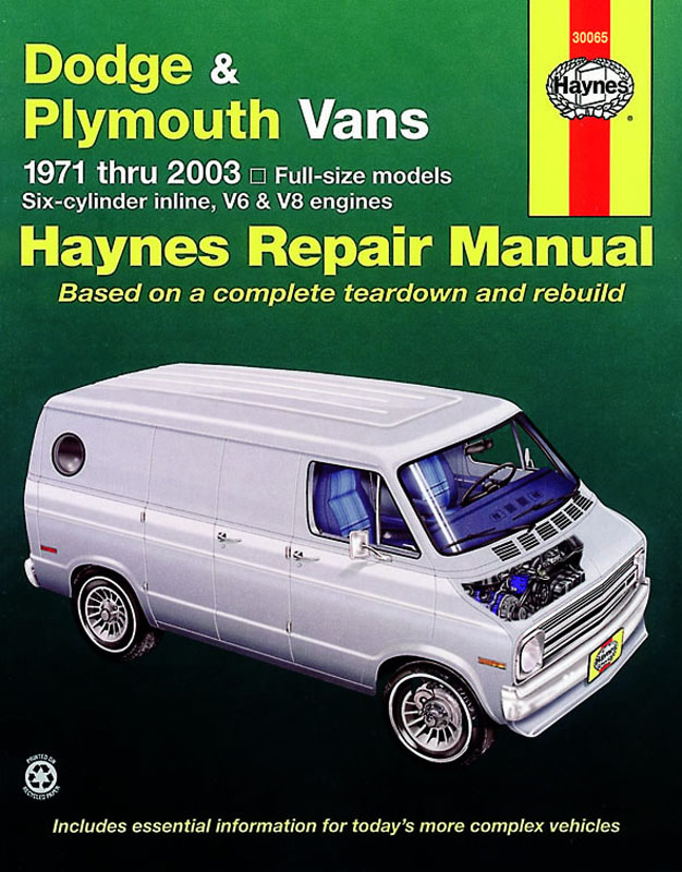 Dodge & Plymouth Vans (71 - 96) Revue technique Haynes