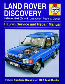 Land Rover Discovery Petrol and Diesel (89 - 98) Revue technique Haynes