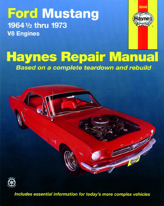 Ford Mustang V8 (July 64 - 73) Revue technique Haynes