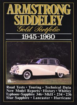 Armstrong Siddeley Gold Portfolio 1945-1960