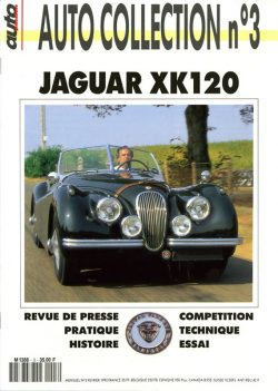 Jaguar XK 120 - Auto Collection n°3