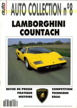 Lamborghini Countach - Auto Collection n°8