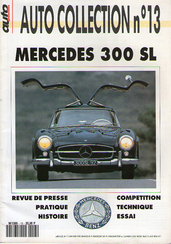MERCEDES 300 SL - Auto Collection n°13
