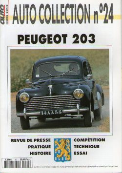 Auto Collection n°24 - PEUGEOT 203