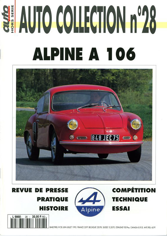 Auto Collection n°28 Alpine A106