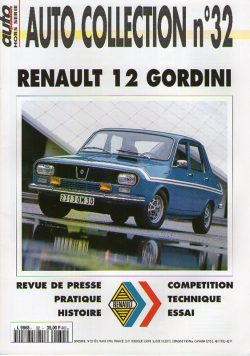 Auto Collection n°32 - Renault 12 Gordini