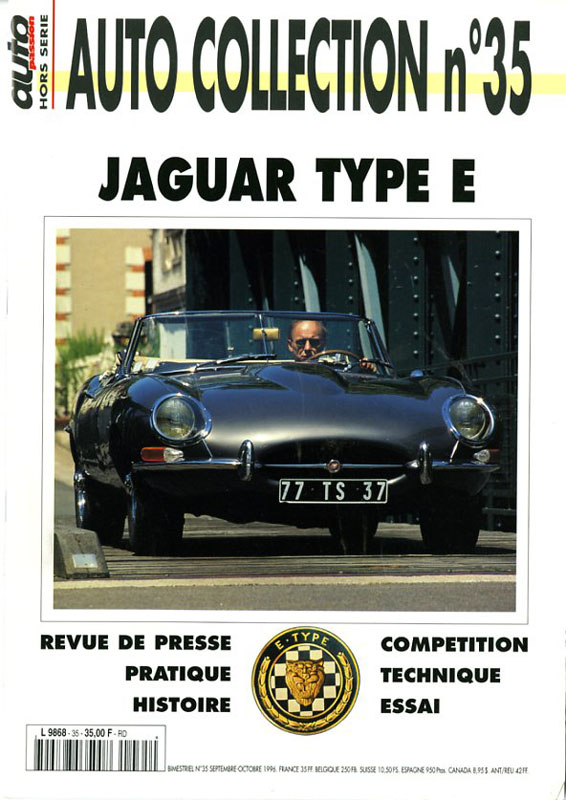 Auto Collection n°35 Jaguar Type-E