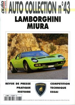 Auto Collection n°43 Lamborghini Miura