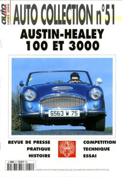 Austin-Healey 100 et 3000 autocollection n°51