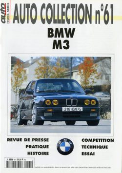 BMW M3 Autocollection n°61