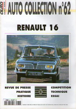 Auto Collection n°62 - Renault 16