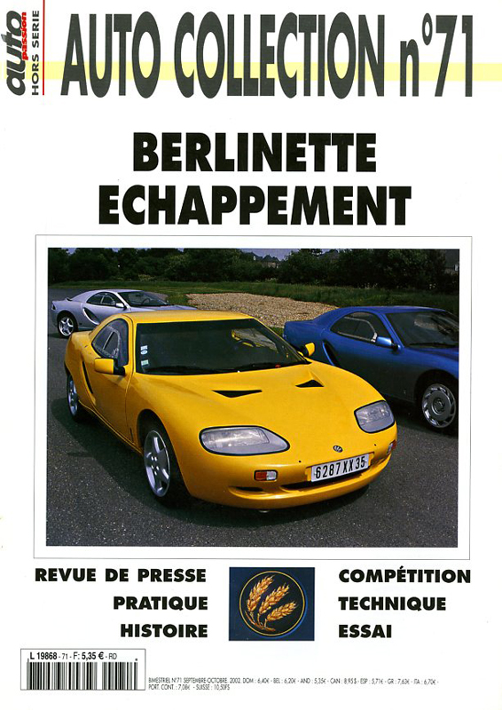 Berlinette Echappement