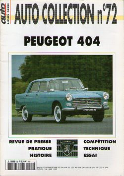 Auto Collection n°72 - PEUGEOT 404