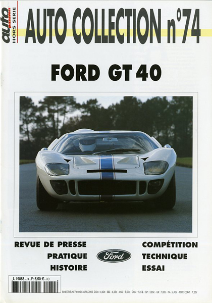 ACn°74 Ford GT 40