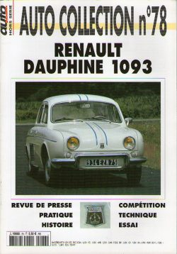 Auto Collection n°78 - Renault Dauphine 1093