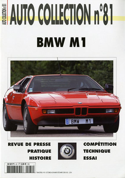 BMW M1 auto collection n°81