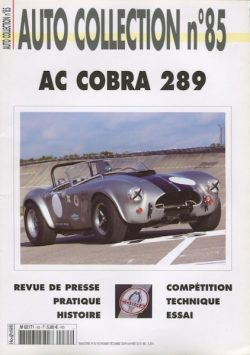 Cobra 289 - Autocollection n°85