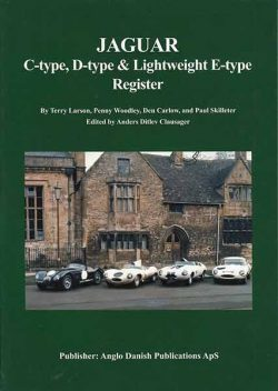 Jaguar C-type, D-type & Lightweight E-type Register