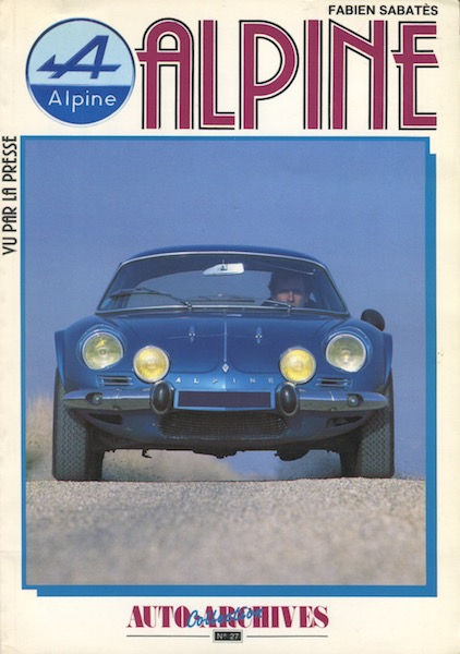 Auto Archives n°27 Alpine