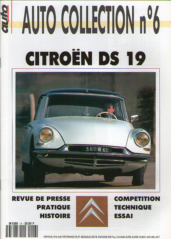 Citroën DS 19 - Auto Collection n°6