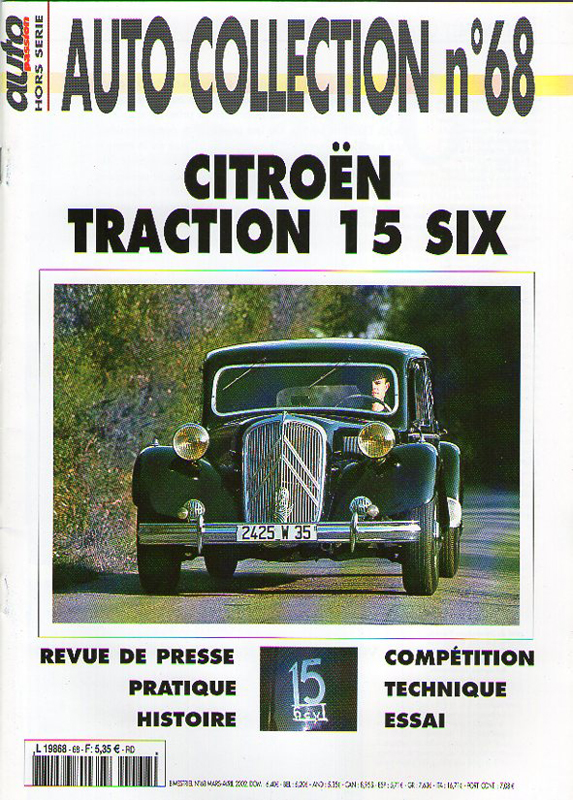 Citroën Traction - Auto Collection n°68 -