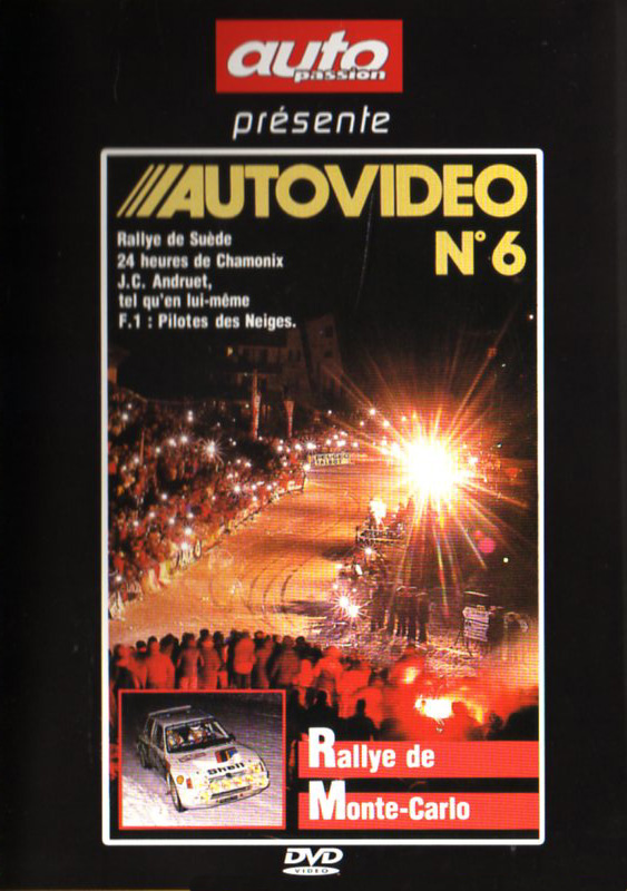DVD AUTOVIDEO N°6