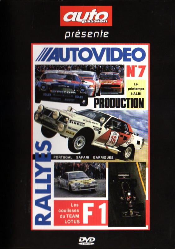 DVD AUTOVIDEO N°7