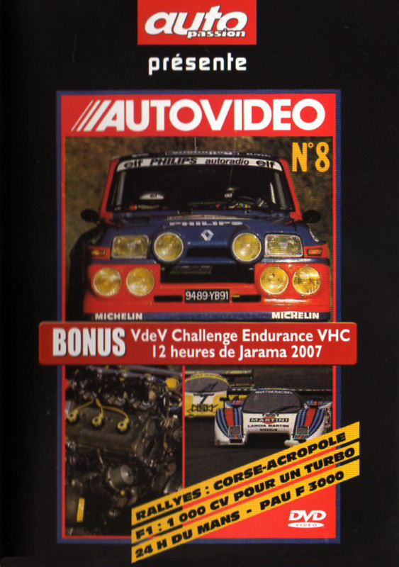 DVD AUTOVIDEO N°8