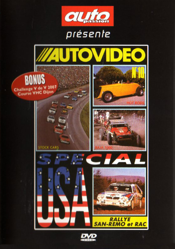 DVD AUTOVIDEO N°10