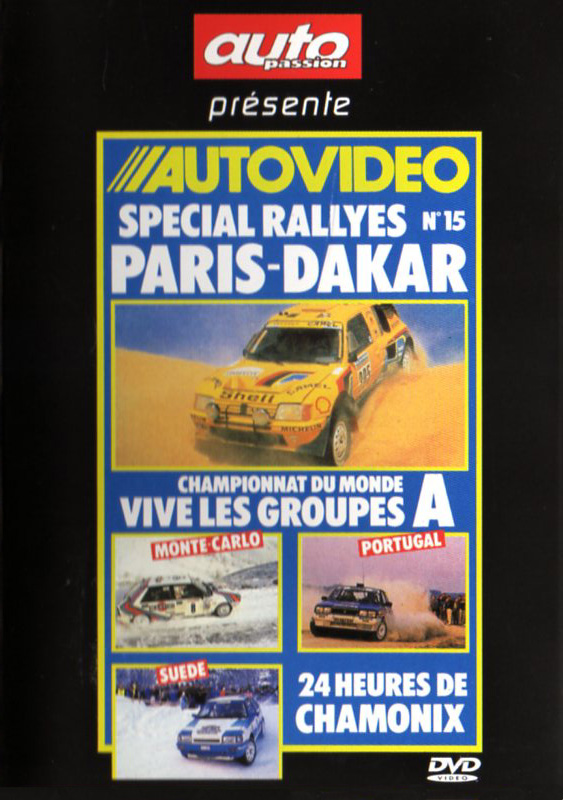 DVD AUTOVIDEO N°15