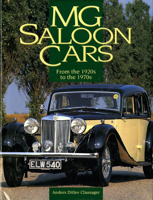 MG Saloon cars from the 1920s to the 1970s