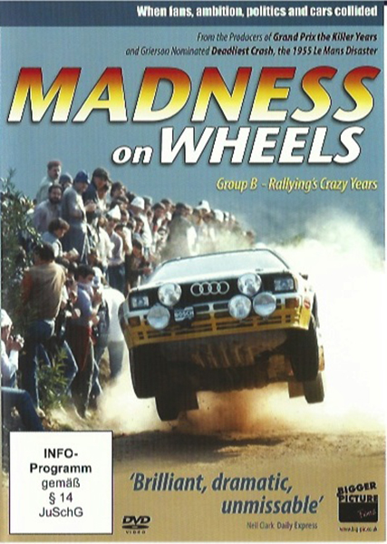 DVD - Madness on the wheels