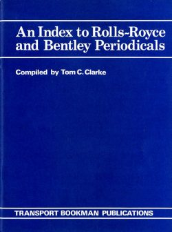 An index to Rolls-Royce and Bentley periodicals