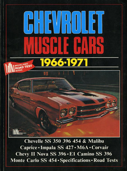 Chevrolet muscle cars 1966-1971