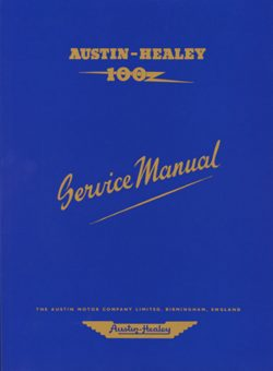 Austin Healey 100 Workshop Manual