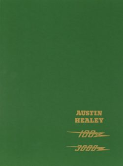 Austin Healey 100/6 & 3000 Workshop Manual
