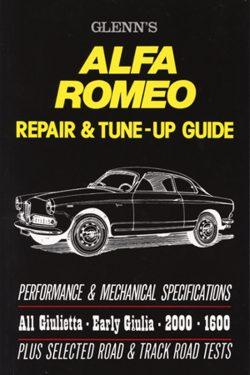 Alfa Romeo Repair & Tune Up Guide