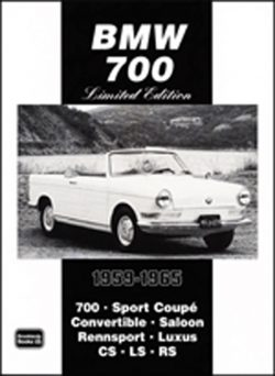 BMW 700 Limited Edition Extra 1959-1965