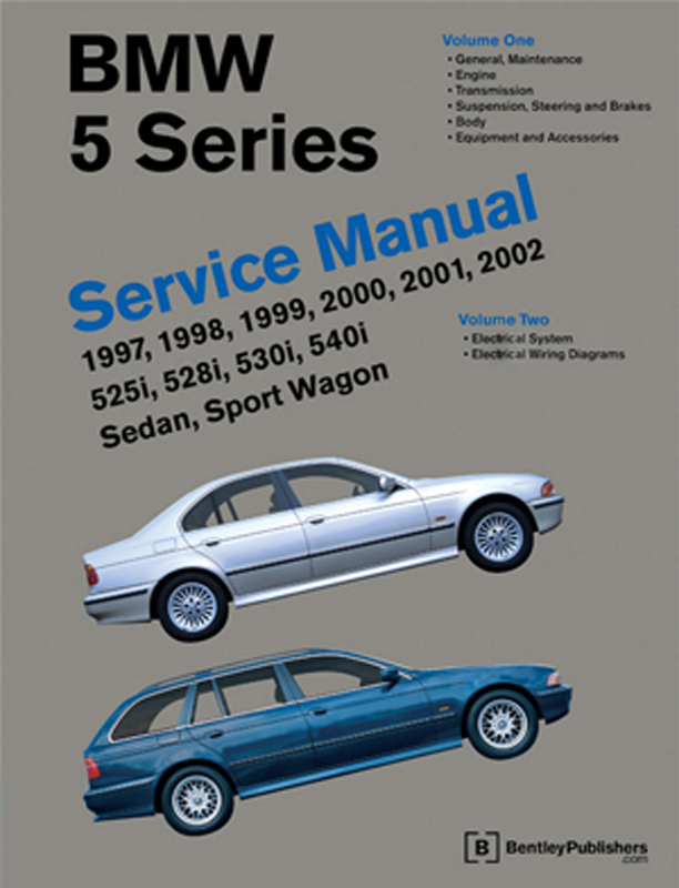 BMW 5 Series Service Manual 1997-2002 (E39)