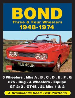 Bond Three & Four Wheelers 1948-1974 Road Test Portfolio