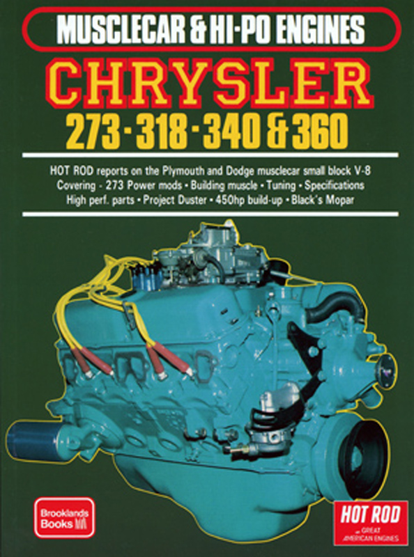 Musclecar & Hi-Po Engines Chrysler 273-318-340-360