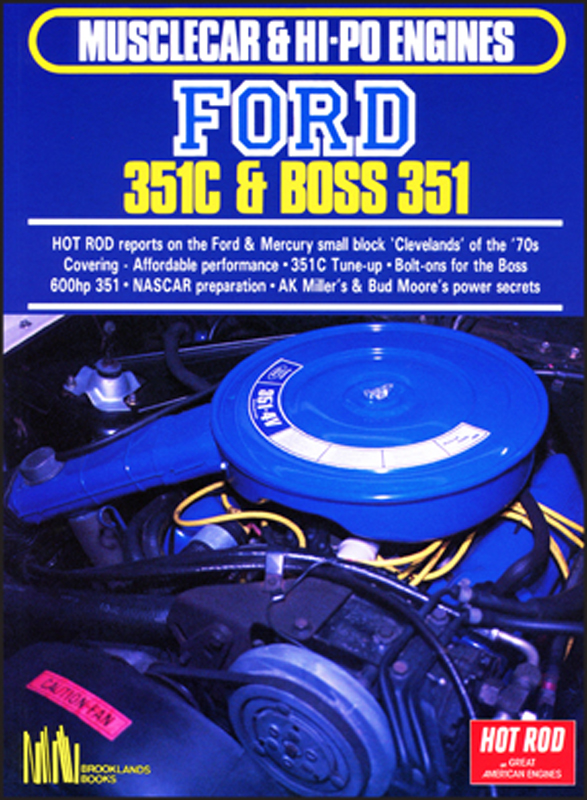 Musclecar & Hi-Po Engines Ford 351C & Boss 351   £