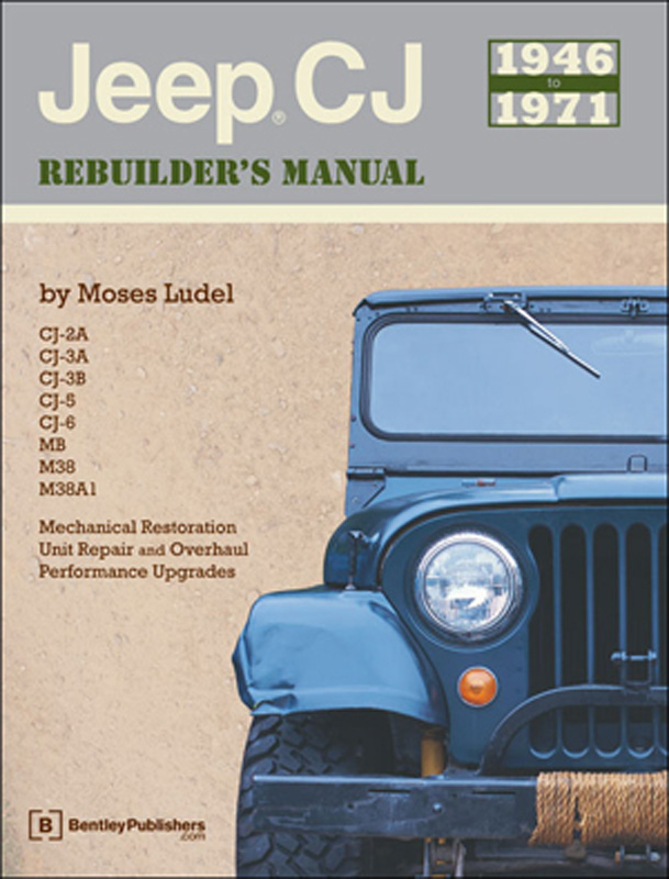 Jeep CJ Rebuliders Manual 1946 to 1971