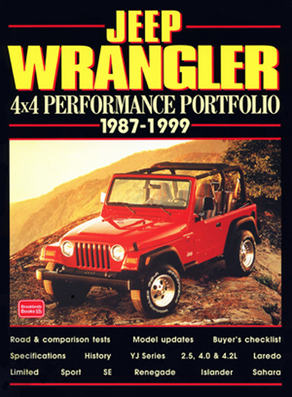 Jeep Wrangler 4X4 Performance Portfolio 1987-1999