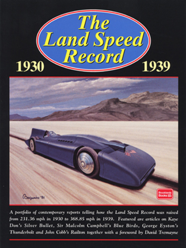 The Land Speed Record 1930-1939